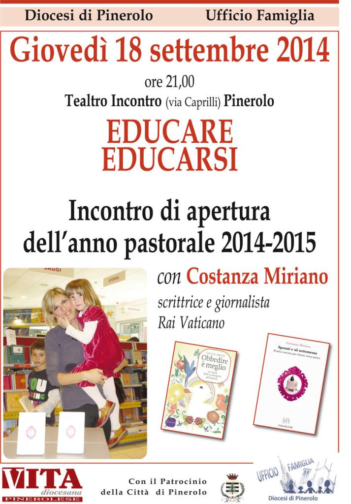 Educare Educarsi con Costanza Miriano