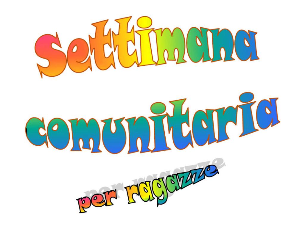 Settimana Comunitaria 2014