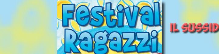Festival RagazzI - Il sussidio