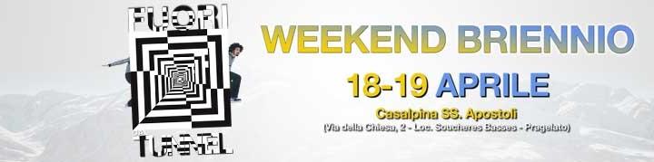 Weekend briennio aprile 2015
