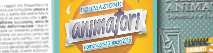 Presentazione Corso animatori 2016