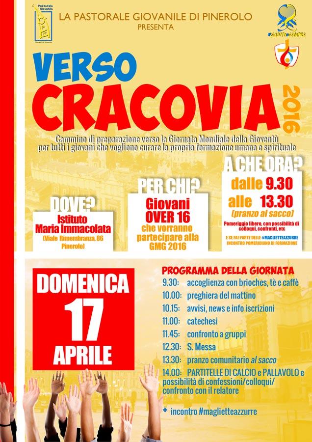 Verso Cracovia 2016 incontro di Aprile
