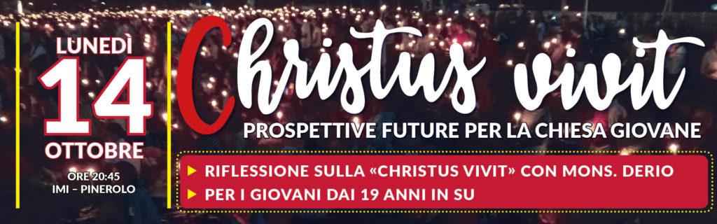 "Serata ""Christus Vivit"" con Derio    14.10.19"