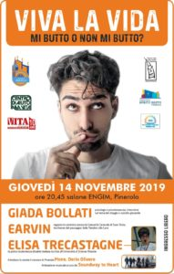 "Serata Viva la Vida ""Mi butto o non mi butto?"" - Incontro all'ENGIM 14 novembre 20:45"