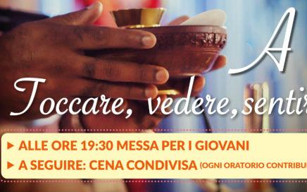 """Messa per i giovani """"A pelle"""", 2 febbraio, 19:30, Parrocchia Spirito Santo"""